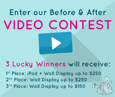 enter to win Decorate With Canvas Prints : Video Contest