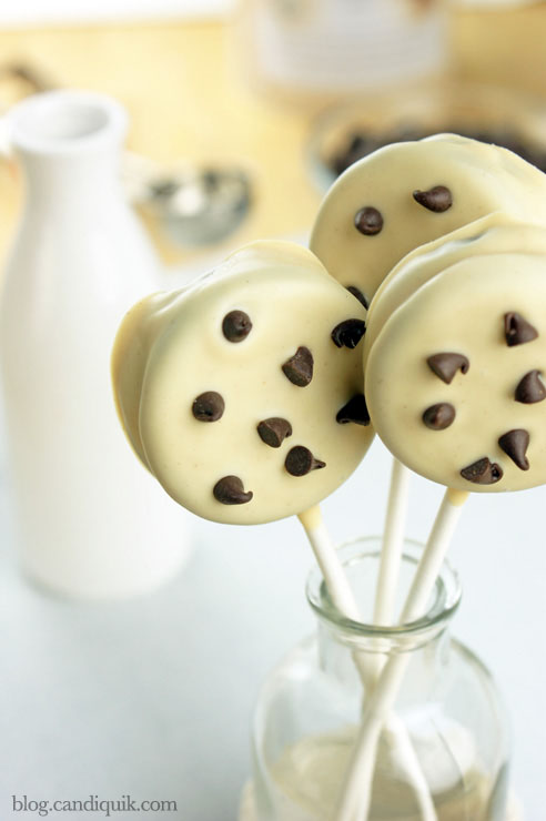 Cookie Pops 04b Chocolate Chip Cookie Pops   By Sarah of Miss Candiquik