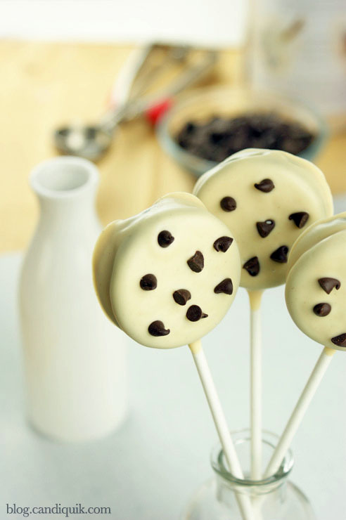 Cookie Pops 96b Chocolate Chip Cookie Pops   By Sarah of Miss Candiquik