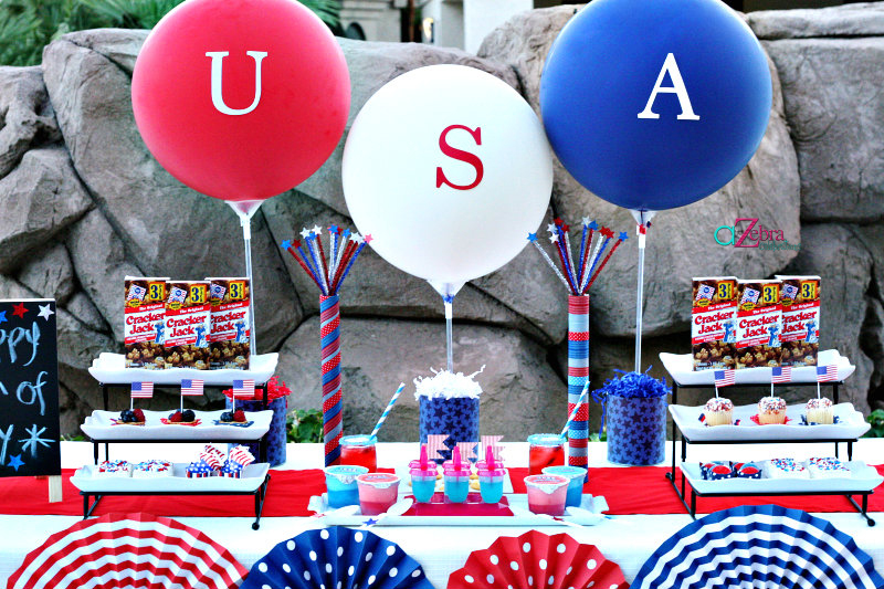 atozbracelebrations 4th Of July Food And Snack Ideas