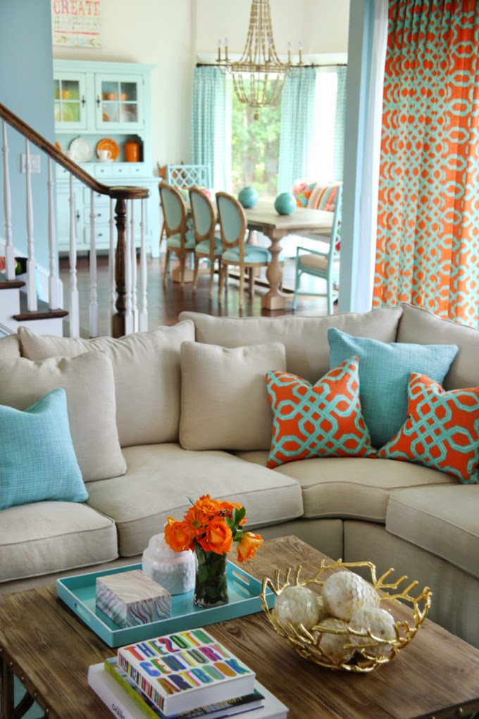 house of turquoise Home Decor Ideas From Creative Bloggers