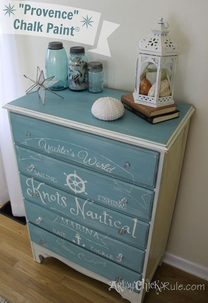 coastal themed thrift store dresser graphics annie sloan chalk paint chalk paint painted furniture.1 Nautical Homes Are The Best Homes