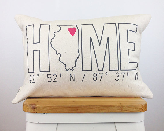 Coordinate Pillow Beyond the Gift Basket: 4 Unique & Affordable Housewarming Gifts