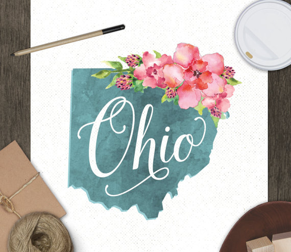 Ohio Art Print Beyond the Gift Basket: 4 Unique & Affordable Housewarming Gifts