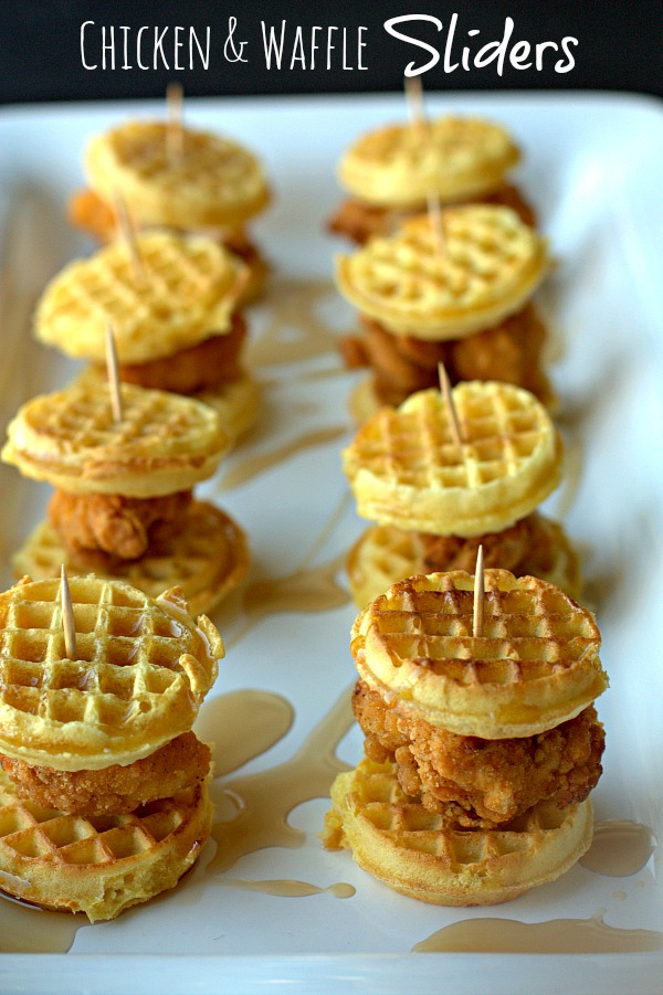 ChickenWaffleSliders Quick & Easy Tailgate Food to Please a Crowd
