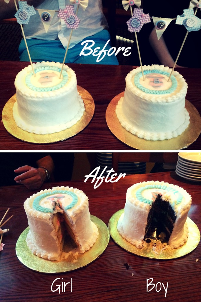 Gender Reveal Cake 683x1024 Gender Reveal Party Ideas