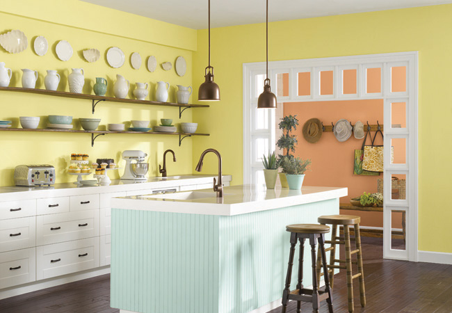 YellowKitchen Kitchen Color Combinations that will Transform Your Space