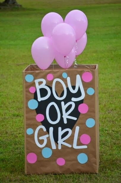 balloon reveal Gender Reveal Party Ideas