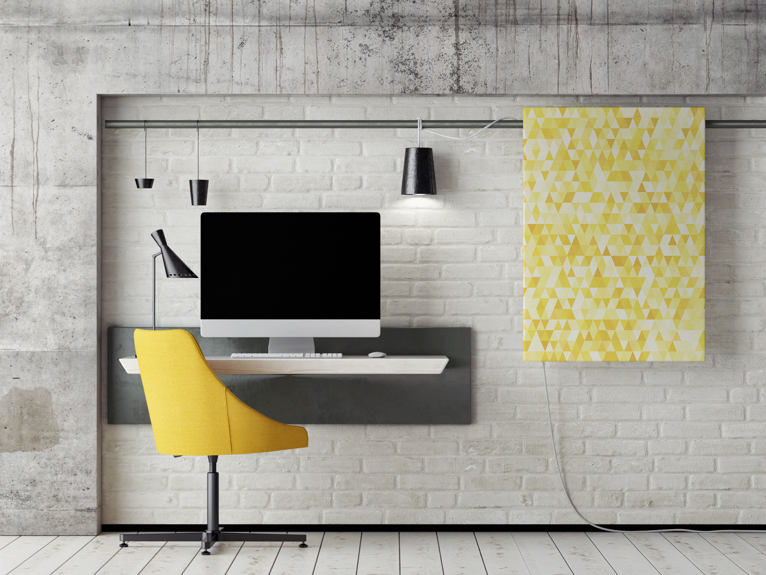 COLOR COORDINATED OFFICE Corporate Art Spotlight: Canvas Print Ideas for Your Company Walls