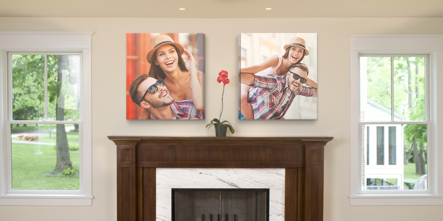 FireplaceCanvasn NoLogo Decorate Your Walls Like a Pro: Canvas Print Ideas for Any Space