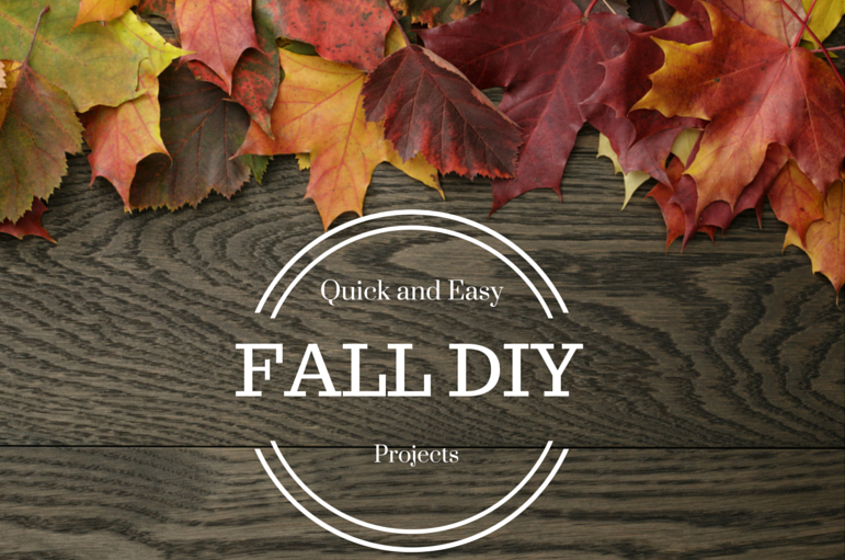 fall diy Fall Crafts & DIY Projects that Wont Take All Day