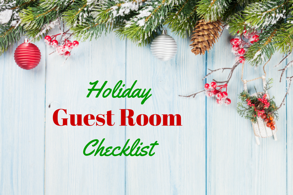 featured holiday image Get Your Guest Room Holiday Ready