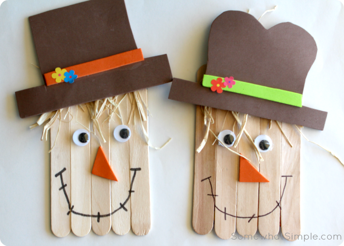 scrawcrow craft 3 Thanksgiving Crafts, DIYs, & Activities for the Whole Family