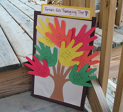 tree1 Thanksgiving Crafts, DIYs, & Activities for the Whole Family