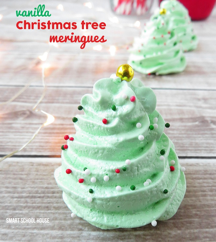 Christmas Tree Meringues2 2 11 Holiday Desserts That Will Wow Your Family and Friends