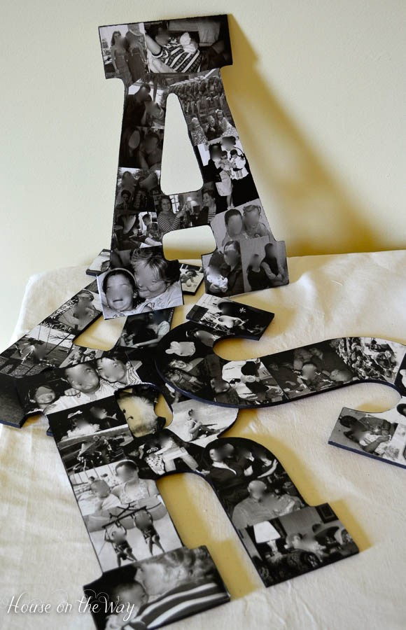 DIY Photo Collage Letters 2 11 Personalized Gifts You Can Make Right Now