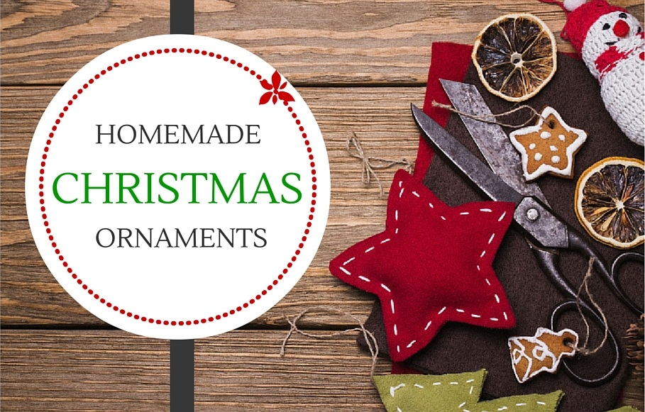 OrnamentsFinal 12 Fast and Easy Homemade Christmas Ornaments