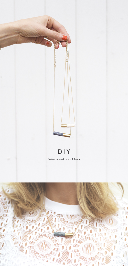 diy necklace 11 11 Personalized Gifts You Can Make Right Now