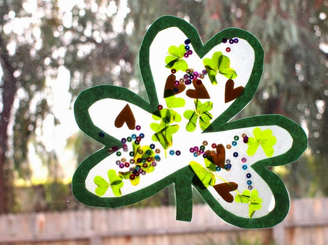 CloverWindow 5 St. Patricks Day Decorations You Can Make with the Kids