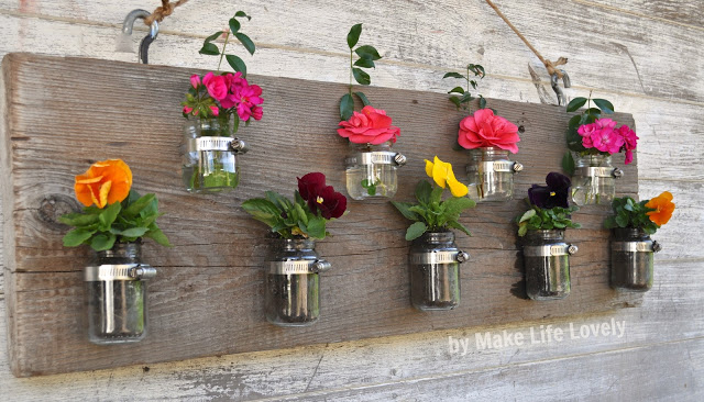 Baby Jar Flower Holders 12 Fabulously Fresh DIY Ideas for Your Spring Home Decor