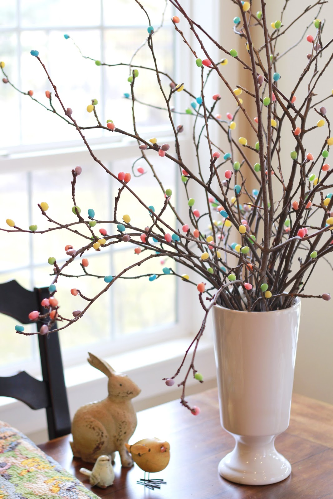 Jelly Bean Tree 12 Fabulously Fresh DIY Ideas for Your Spring Home Decor