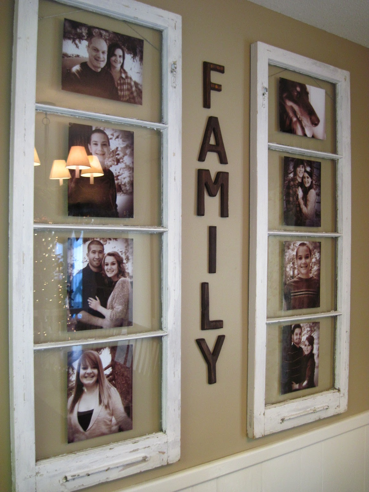 Window Photo Displays 12 Fabulously Fresh DIY Ideas for Your Spring Home Decor